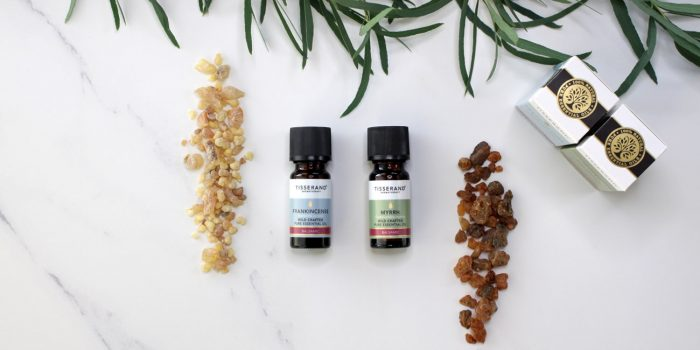 Tisserand Aromatherapy Frankincense and Myrrh Essential Oils